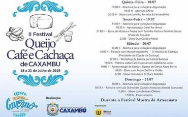 2º festival queijo caxambu